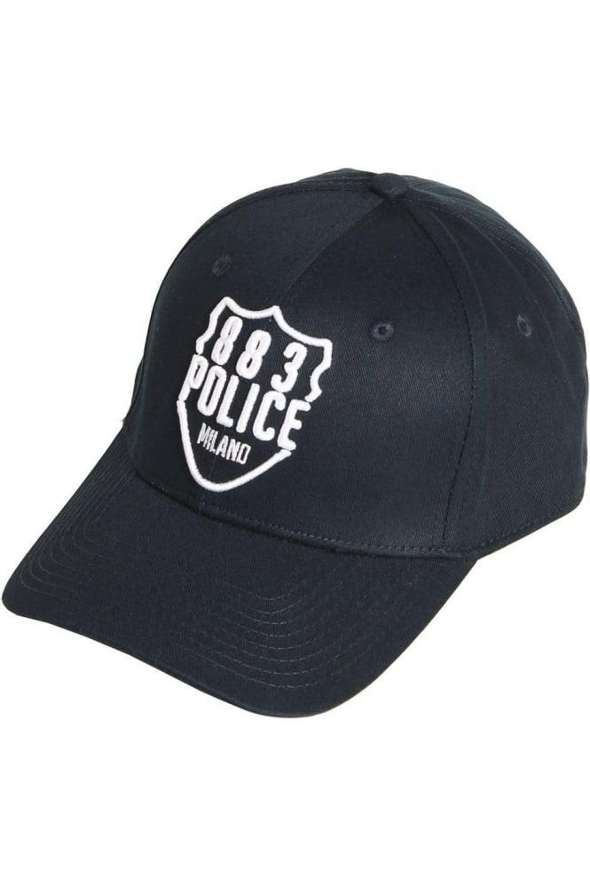 883 POLICE Titan Baseball Cap | Grey & Navy