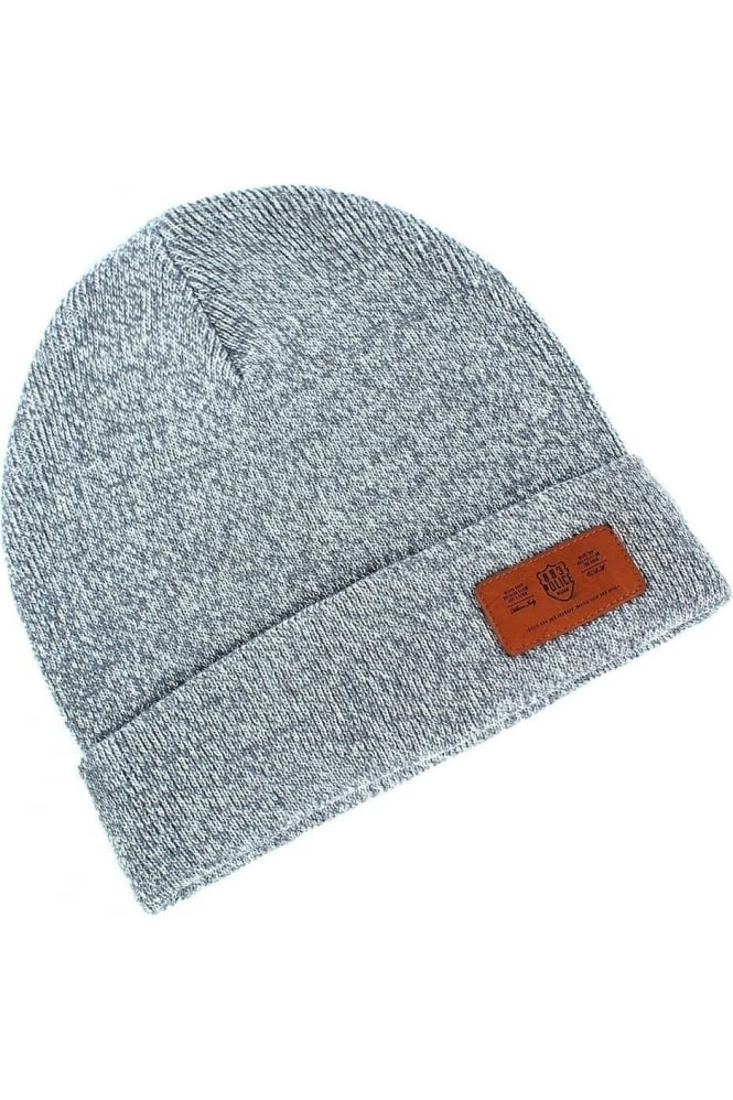 883 POLICE Troy Marl Grey Men's Beanie Hat
