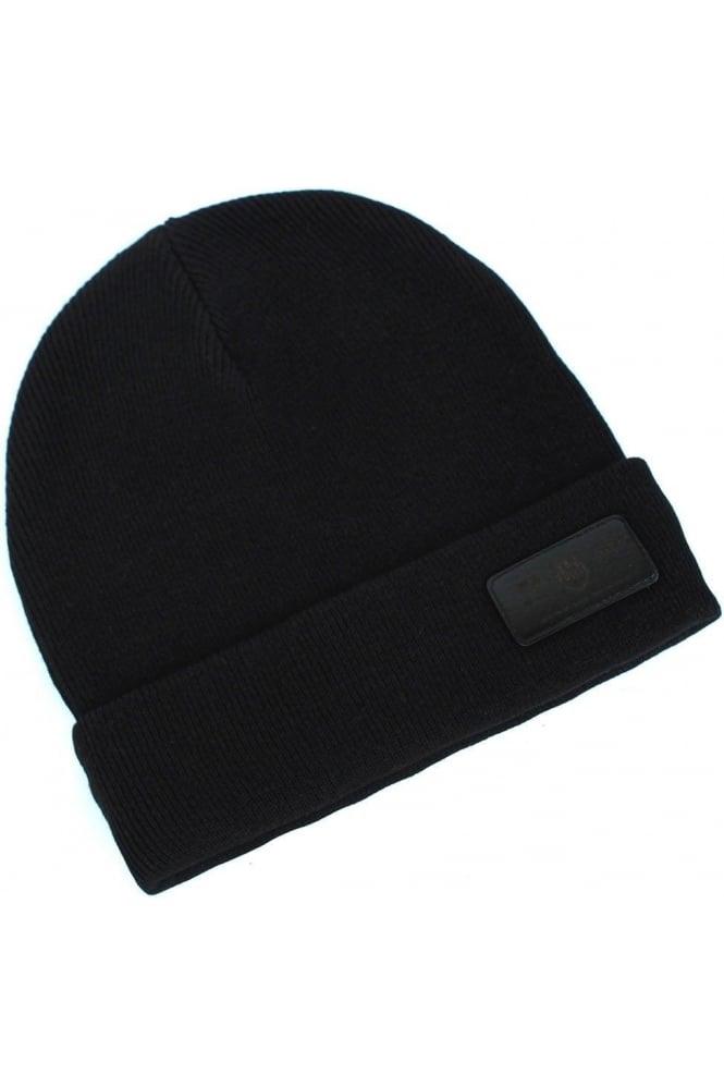 883 POLICE Troy Men's Beanie Hat | Black