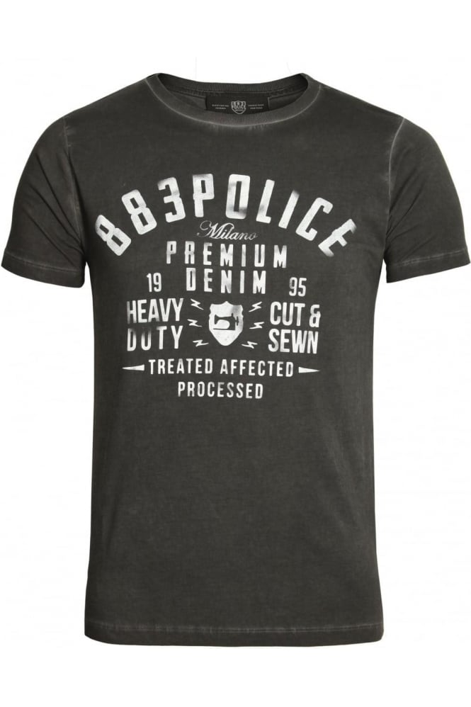 883 POLICE Vance T-Shirt Black