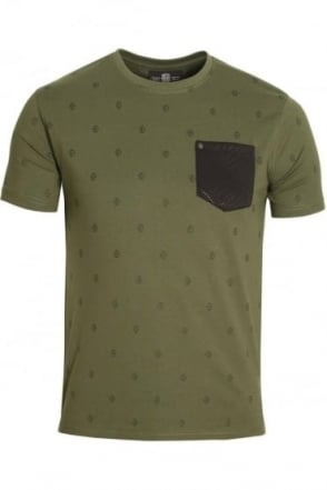 Viking Pocket T-Shirt Military Green