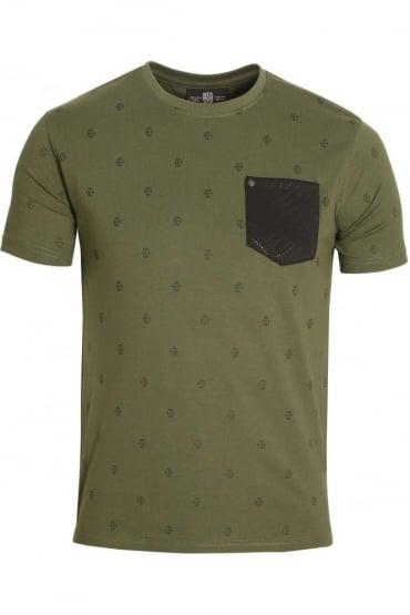 Viking Pocket T-Shirt Military Green