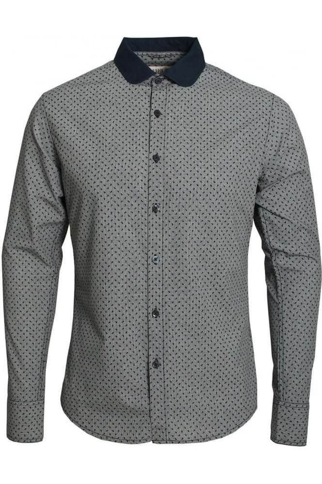 883 POLICE Vito Long Sleeve Shirt | Eclipse Navy