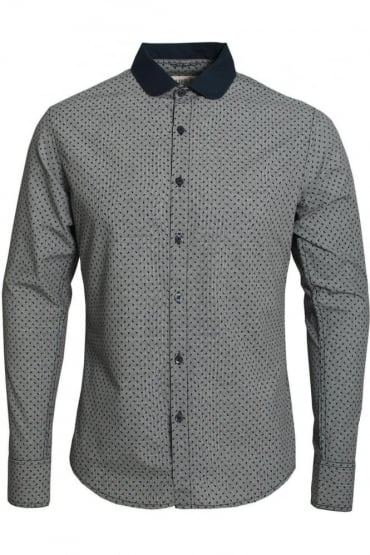 Vito Long Sleeve Shirt | Eclipse Navy