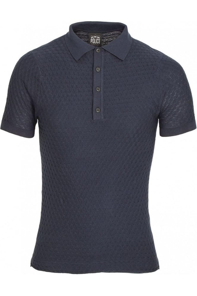 883 POLICE Wang Polo Shirt | Navy