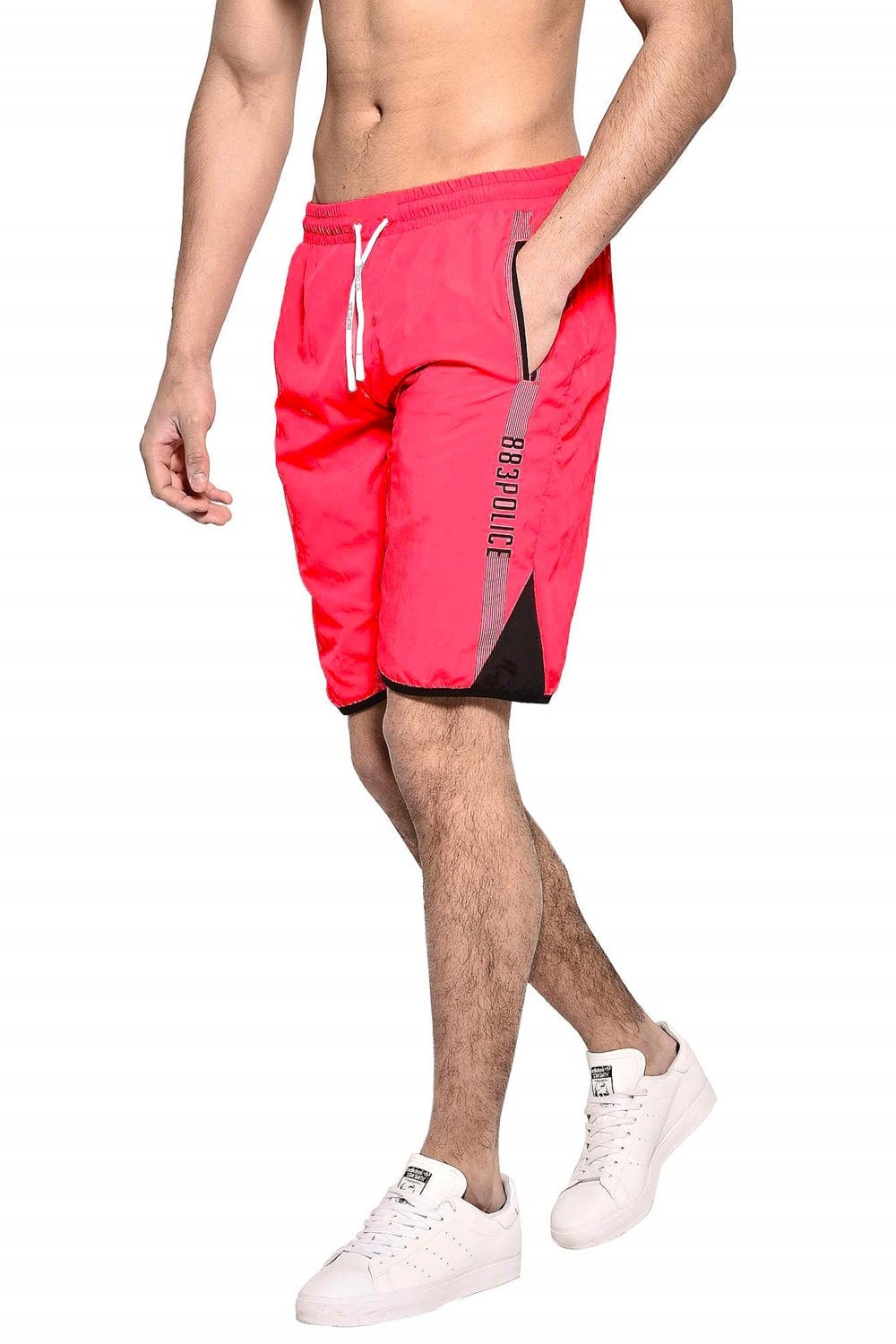 487fb8a6a06 883 Police Windle Red Swim Shorts | Shop 883 Mens Swimwear & Shorts