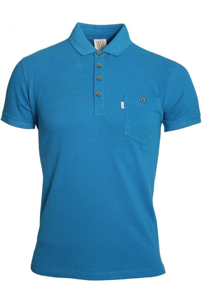 883 POLICE Winton Polo Shirt | Electric Blue