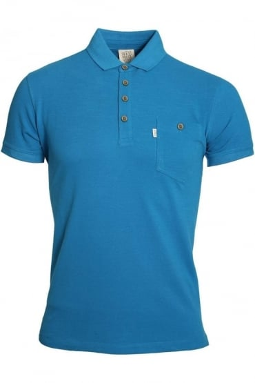 Winton Polo Shirt | Electric Blue