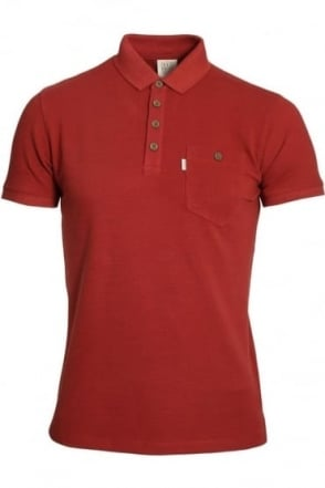 Winton Polo Shirt | Rosewood Red
