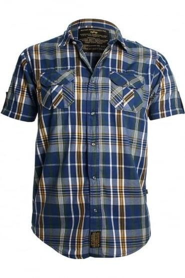 59 Print Shirt | Blue