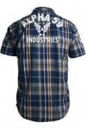 ALPHA INDUSTRIES 59 Print Shirt | Blue