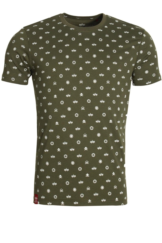 64da85f72b4b Alpha Industries All Over Print T-Shirt | Buy Alpha Mens T-Shirts