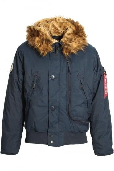 Arctic Explorer Polar Bomber Jacket | Rep Blue
