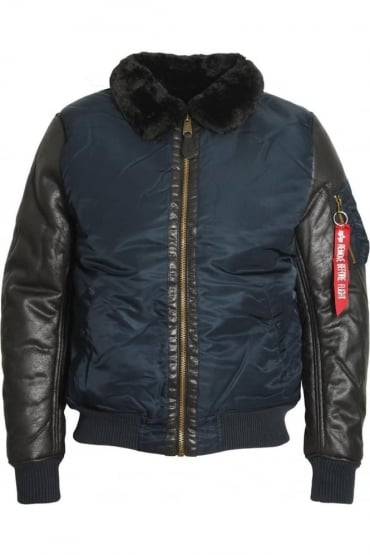 B3 M Bomber Jacket Rep Blue