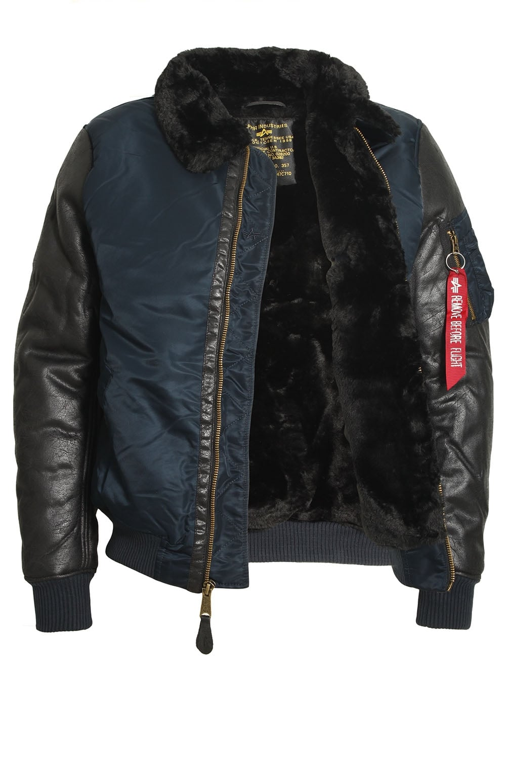 alpha industries b3 m rep blue bomber jacket shop alpha jackets. Black Bedroom Furniture Sets. Home Design Ideas