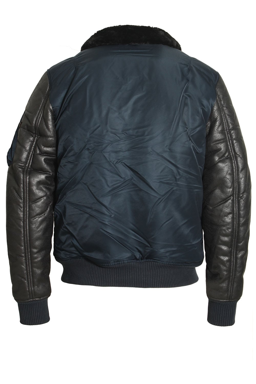 alpha industries b3 m rep blue bomber jacket shop alpha jackets. Black Bedroom Furniture Sets. Home Design Ideas