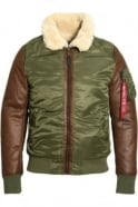 ALPHA INDUSTRIES B3 M Bomber Jacket Sage