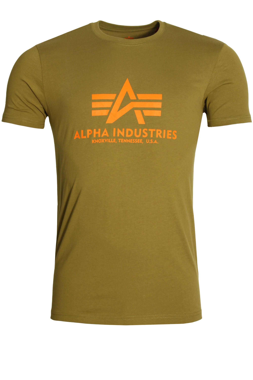 Alpha Industries Basic Crew Neck T-Shirt Olive
