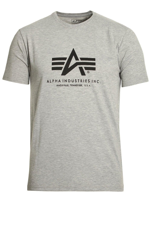 atrakcyjna cena buty na tanie duża obniżka Basic Heather Grey Cotton Logo T-Shirt