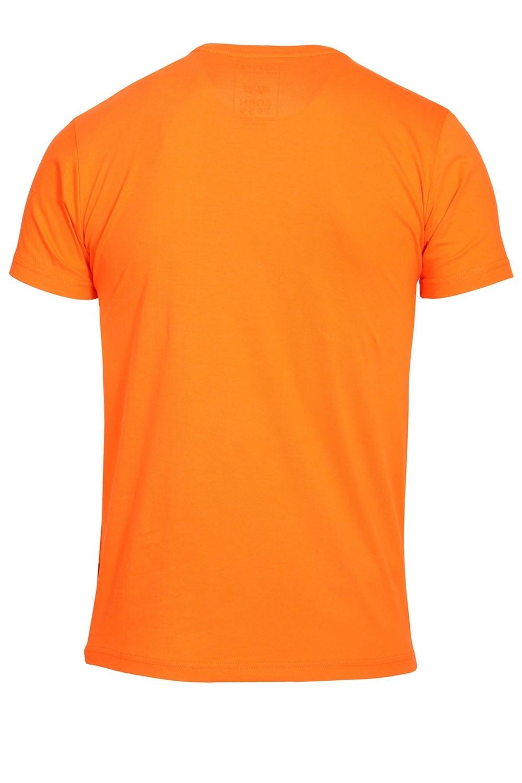 alpha industries basic t shirt orange buy alpha industries t shirt. Black Bedroom Furniture Sets. Home Design Ideas