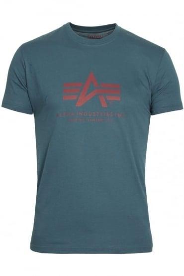 Basic Petrol Blue Logo T-Shirt