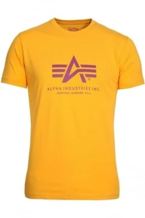 Basic Yellow Logo T-Shirt
