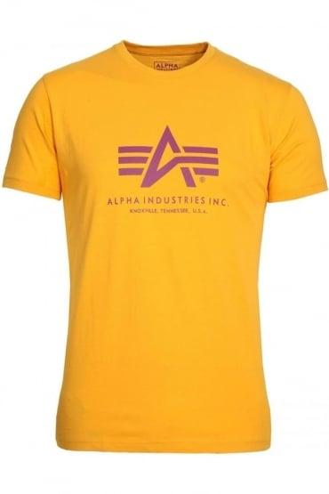Basic Yellow Logo T-Shirt