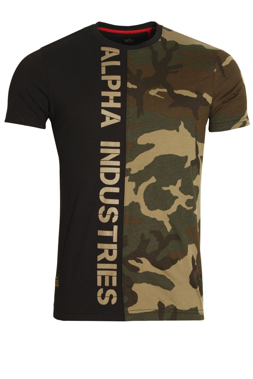 wholesale dealer 663fe 71f13 Camo Half T-Shirt | Woodland Camo
