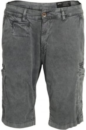 Deck Cargo Shorts Grey Blue