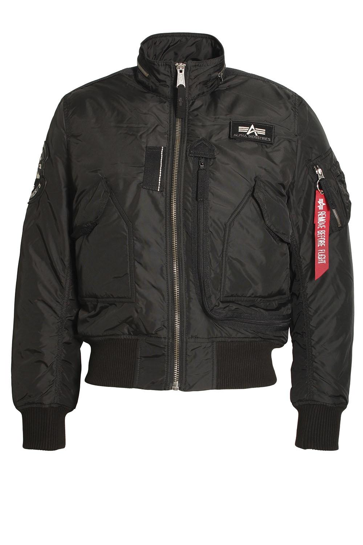 alphan industries engine jacket black shop alpha. Black Bedroom Furniture Sets. Home Design Ideas