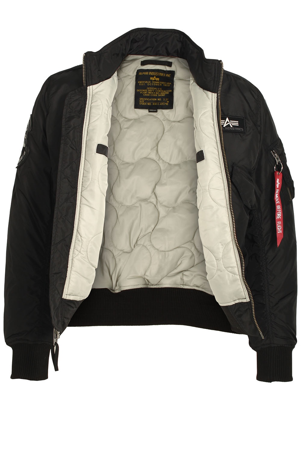 alphan industries engine jacket black shop alpha industries jackets. Black Bedroom Furniture Sets. Home Design Ideas