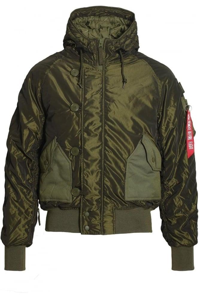 ALPHA INDUSTRIES Hunter Bomber Jacket | Dark Green