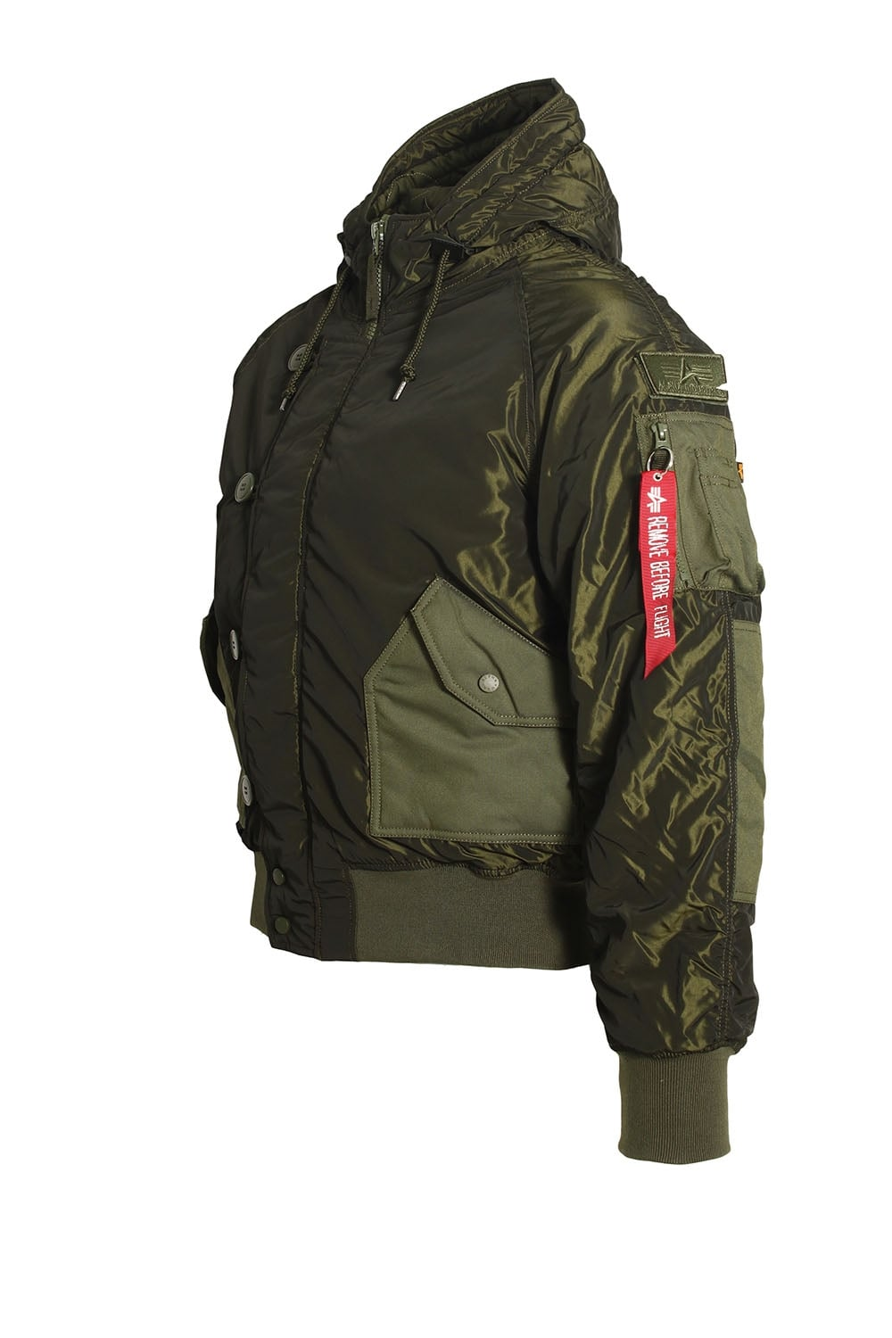 alpha industries hunter dark green bomber jacket shop alpha jackets. Black Bedroom Furniture Sets. Home Design Ideas