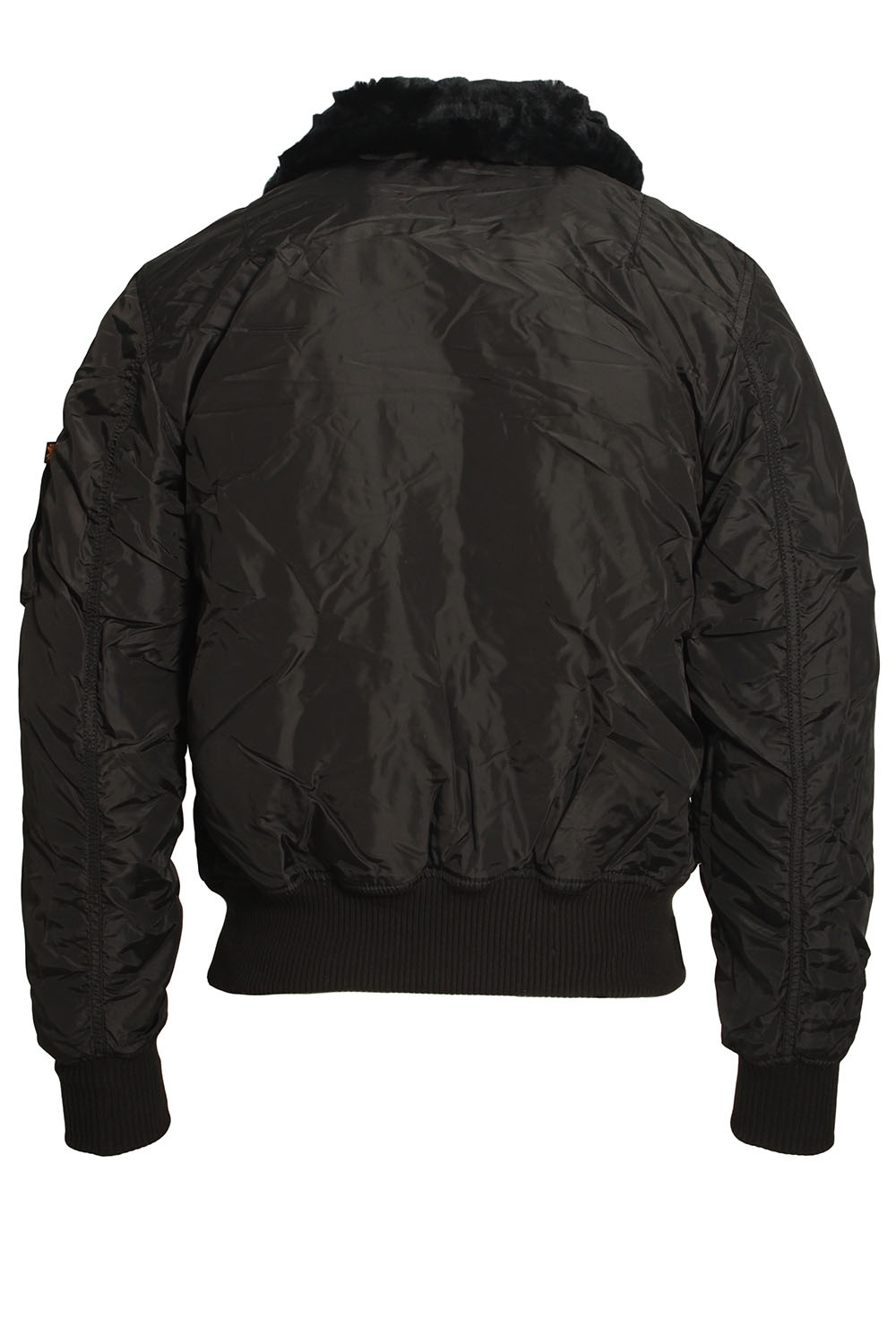 alpha industries injector iii flight jacket black shop alpha jackets. Black Bedroom Furniture Sets. Home Design Ideas