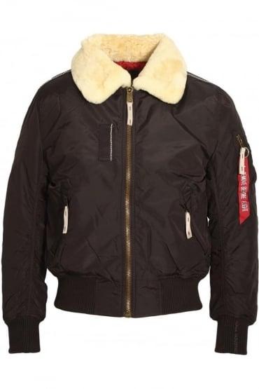 Injector III Bomber Jacket | Vintage Brown