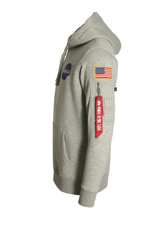 Alpha Industries Space Shuttle Grey Hoodie