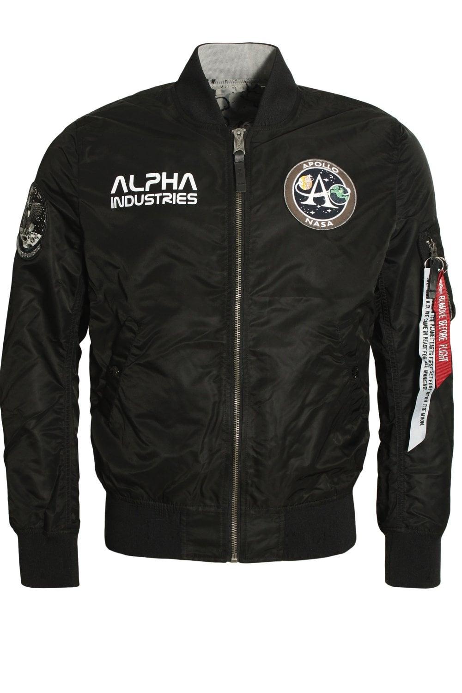 a8391029101a Alpha Industries MA-1 Moon Landing Rev Jacket