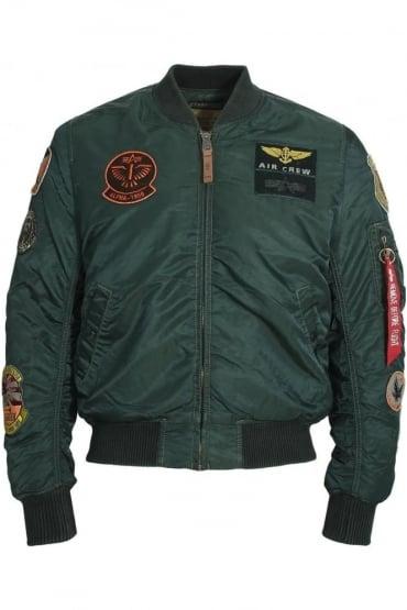 MA-1 Pilot Bomber Jacket | Dark Petrol
