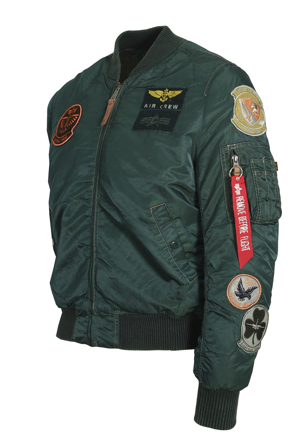 alpha industries ma 1 pilot bomber jacket dark petrol. Black Bedroom Furniture Sets. Home Design Ideas