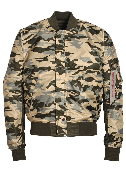 wholesale dealer 162a6 8cc99 MA-1 Reversible Camo Bomber Jacket | Rep Grey