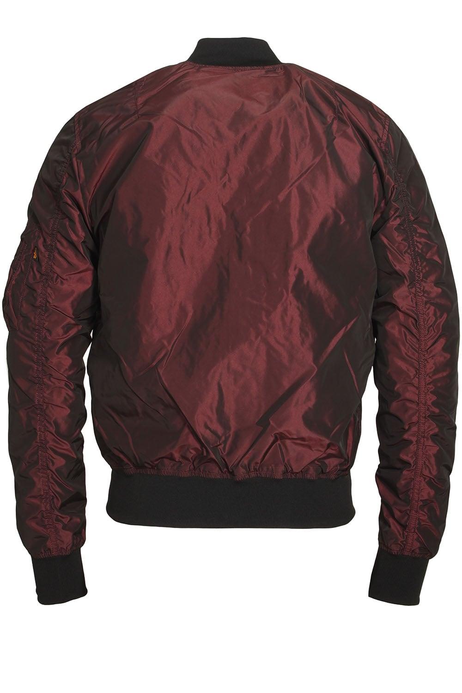 alpha industries ma 1 tt irridian burgundy bomber jacket. Black Bedroom Furniture Sets. Home Design Ideas