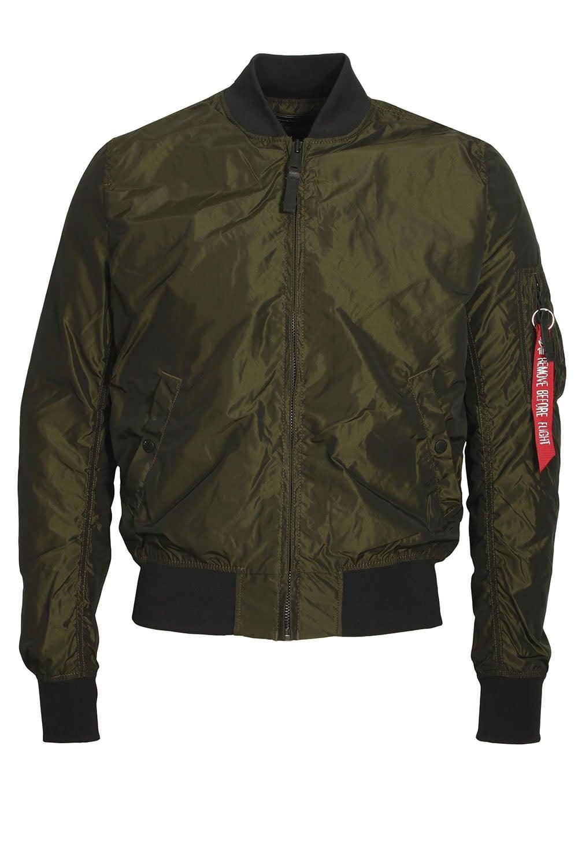 alpha industries ma 1 tt irridian green bomber jacket. Black Bedroom Furniture Sets. Home Design Ideas