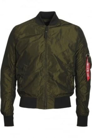 MA-1 TT Bomber Jacket | Irridian Green