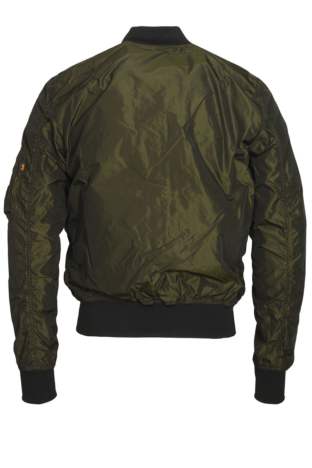 alpha industries ma 1 tt irridian green bomber jacket. Black Bedroom Furniture Sets. Home Design Ideas