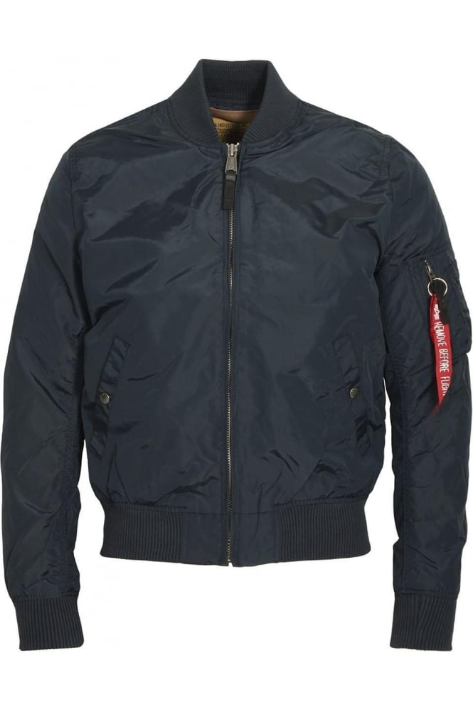 ALPHA INDUSTRIES MA-1 TT Bomber Jacket | Rep Blue