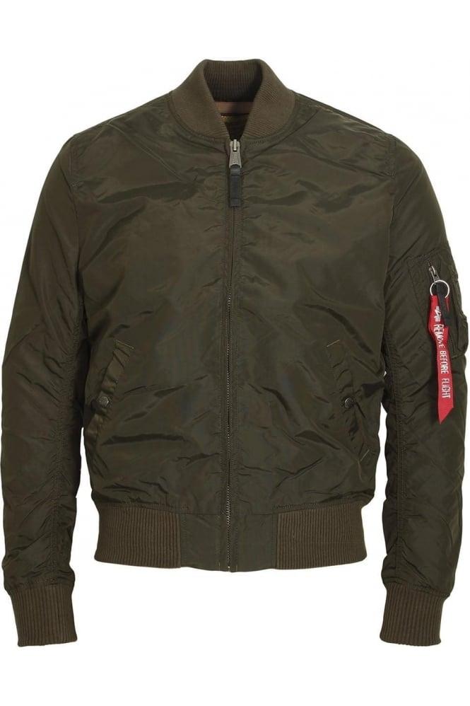 ALPHA INDUSTRIES MA-1 TT Bomber Jacket | Rep Grey