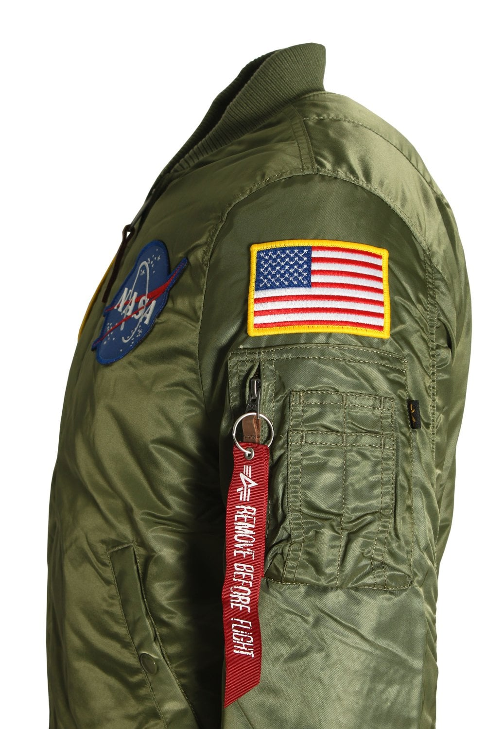 Alpha Industries MA-1 VF NASA AirCrew Flight Jacket  ad7f73919f3