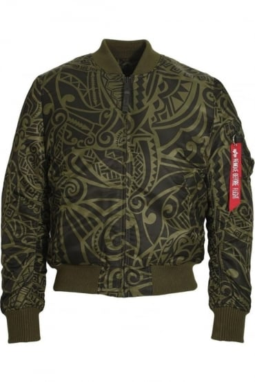 MA-1 VF Tonga Bomber Jacket | Dark Green
