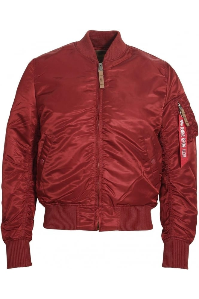 ALPHA INDUSTRIES MA1 VF 59 Bomber Jacket | Burgundy