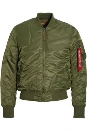 MA1 VF 59 Bomber Jacket | Sage Green